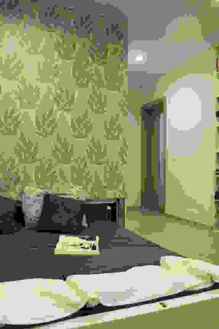Дизайн-проект двухкомнатной квартиры. Крылатские холмы. Спальня в стиле минимализм от artzona.ru Минимализм