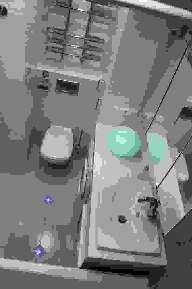 Дизайн-проект двухкомнатной квартиры. Крылатские холмы. Ванная комната в стиле минимализм от artzona.ru Минимализм