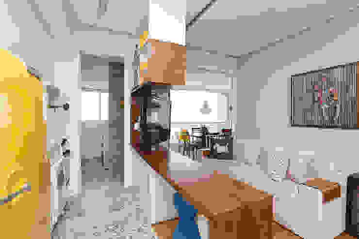 Duda Senna Arquitetura e Decoração Eklektik Oturma Odası