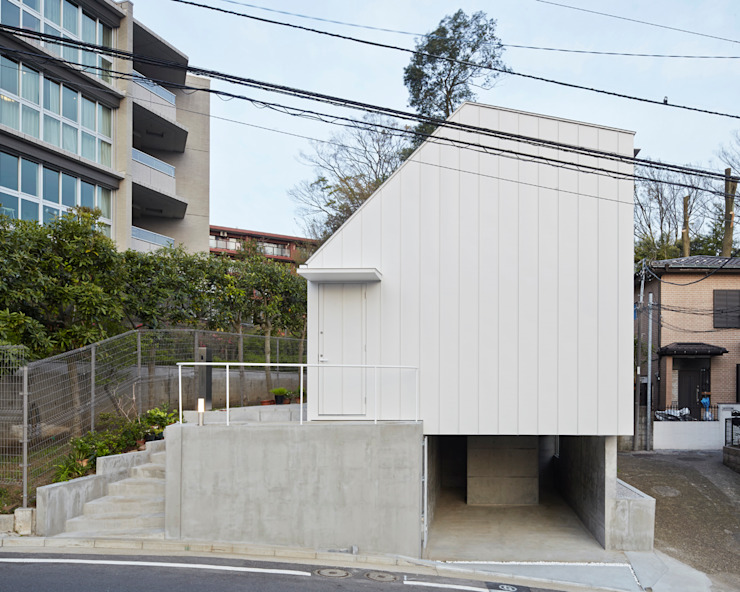 白砂孝洋建築設計事務所 Minimalist house