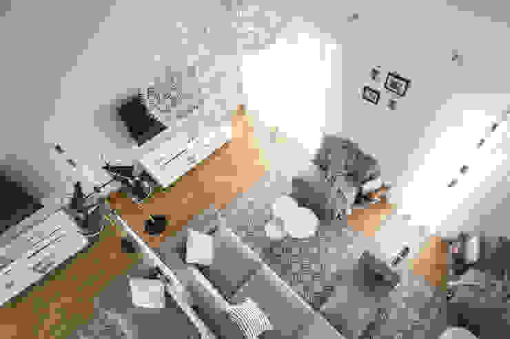 www.niewformie.pl Ruang Keluarga Gaya Skandinavia