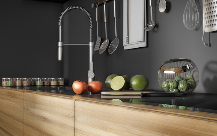Ali İhsan Değirmenci Creative Workshop Modern style kitchen