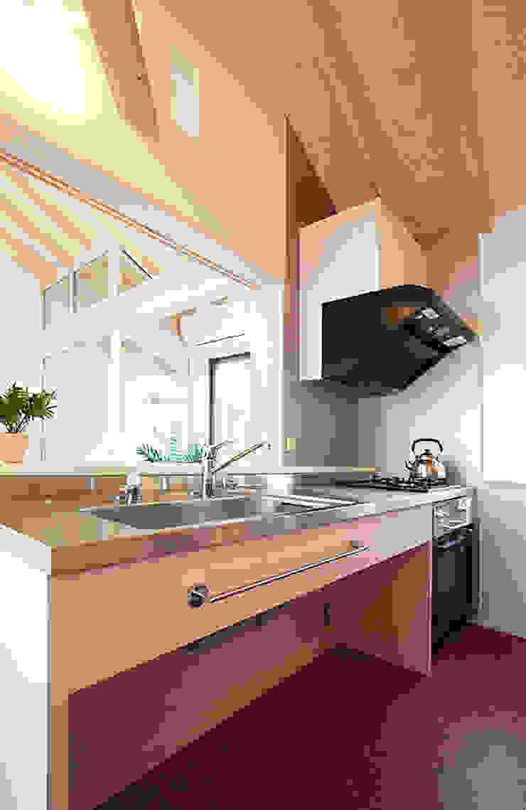 キッチン 北欧デザインの キッチン の 遠藤浩建築設計事務所 H,ENDOH ARCHTECT & ASSOCIATES 北欧