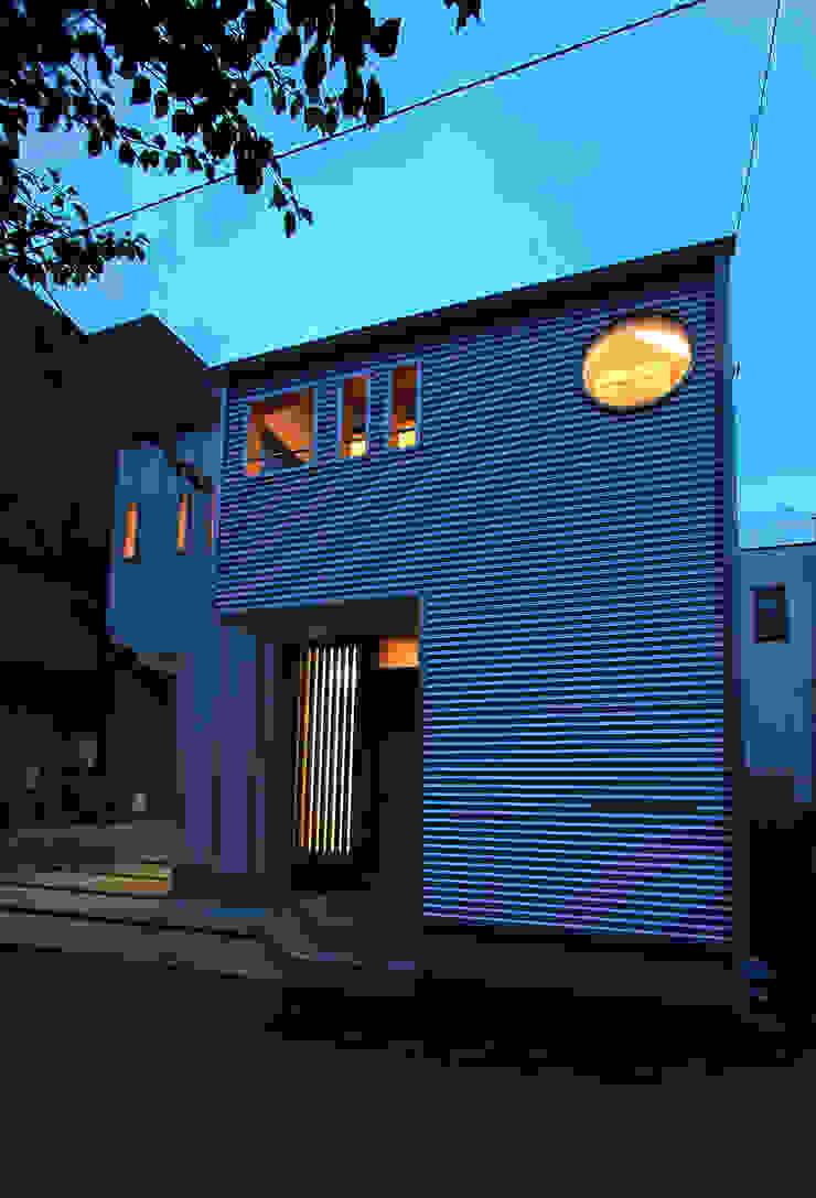 夜景 ミニマルな 家 の 遠藤浩建築設計事務所 H,ENDOH ARCHTECT & ASSOCIATES ミニマル