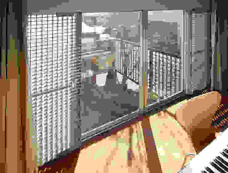 2階子供室: 遠藤浩建築設計事務所 H,ENDOH  ARCHTECT  &  ASSOCIATESが手掛けた子供部屋です。,モダン