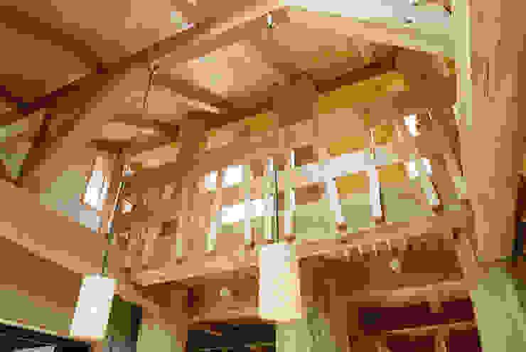 リビング見上げ カントリーデザインの 多目的室 の 遠藤浩建築設計事務所 H,ENDOH ARCHTECT & ASSOCIATES カントリー