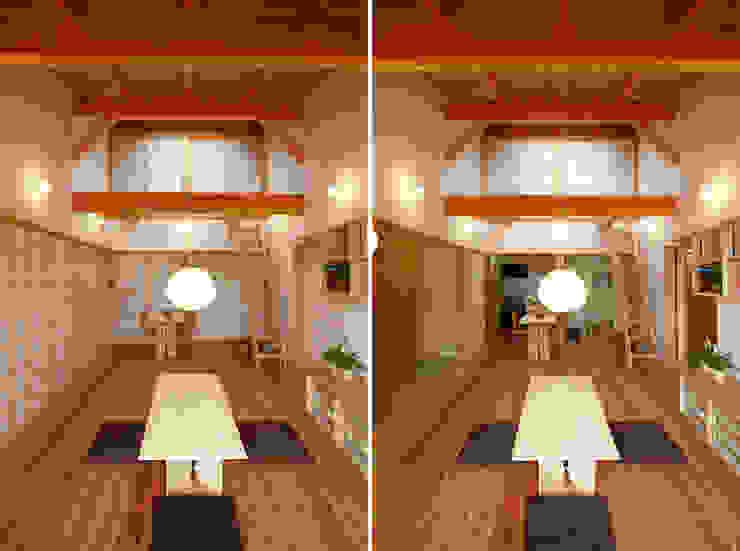 リビング カントリーデザインの リビング の 遠藤浩建築設計事務所 H,ENDOH ARCHTECT & ASSOCIATES カントリー