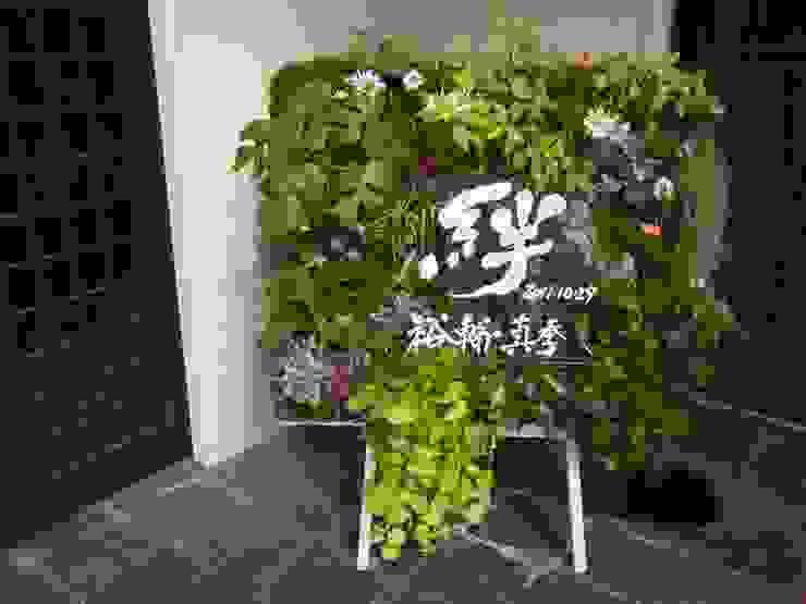 ウエルカムボード: 株式会社 髙橋造園土木  Takahashi Landscape Construction.Co.,Ltdが手掛けた折衷的なです。,オリジナル
