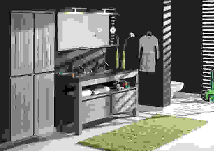 Salle de bain rurale par F&F Floor and Furniture Rural