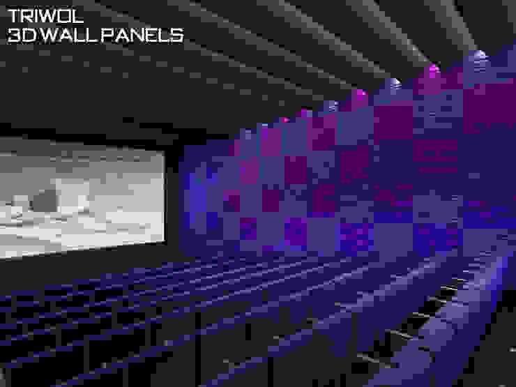 Group Enerji Yapı Dekorasyon – TRIWOL 3d Wall Panels :  tarz Duvar & Zemin,
