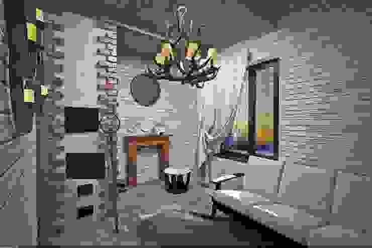 Домашний очаг Коридор, прихожая и лестница в рустикальном стиле от Veronika Brown Studio Рустикальный