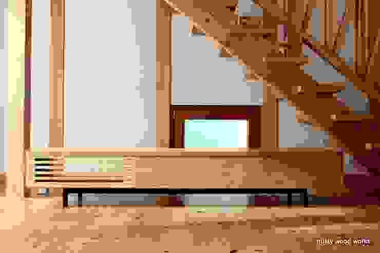 trusty wood works 客廳電視櫃