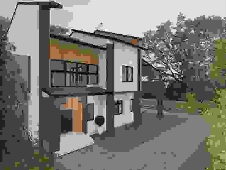 Увеличение террасы Дома в стиле кантри от Veronika Brown Studio Кантри