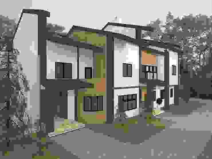 Второй дом Дома в стиле кантри от Veronika Brown Studio Кантри