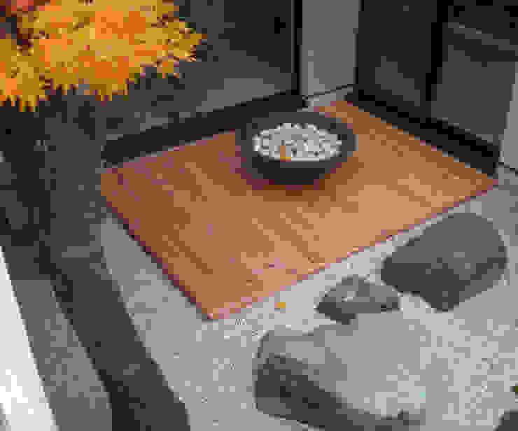 courtyard N3 od 山越健造デザインスタジオ Kenzo Yamakoshi Design Studio Nowoczesny
