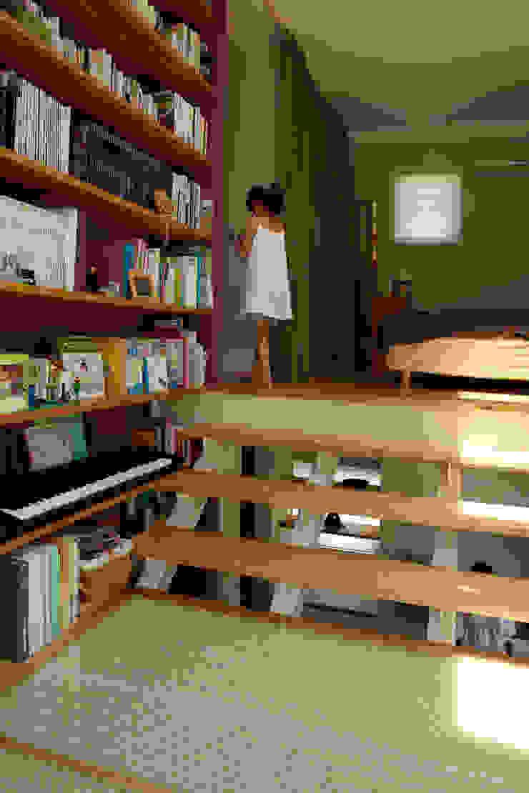 9坪ハウス+α 北欧スタイルの 寝室 の nido architects 古松原敦志一級建築士事務所 北欧