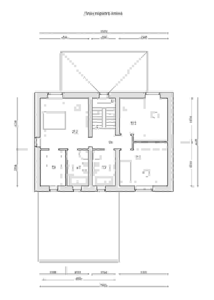 Коттедж в английском стиле от Архитектурное бюро Киев