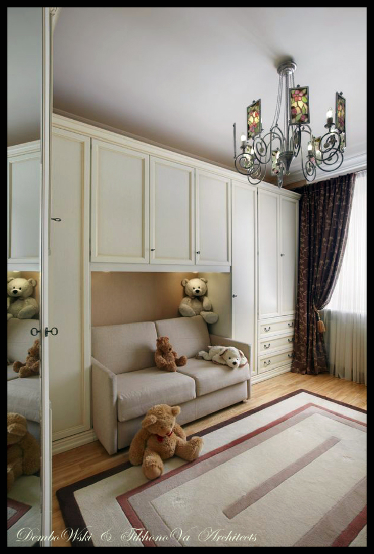 D&T Architects Classic style bedroom