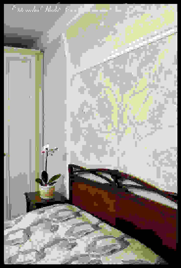 Квартира в стиле классического Арт Нуво Спальня в стиле модерн от D&T Architects Модерн