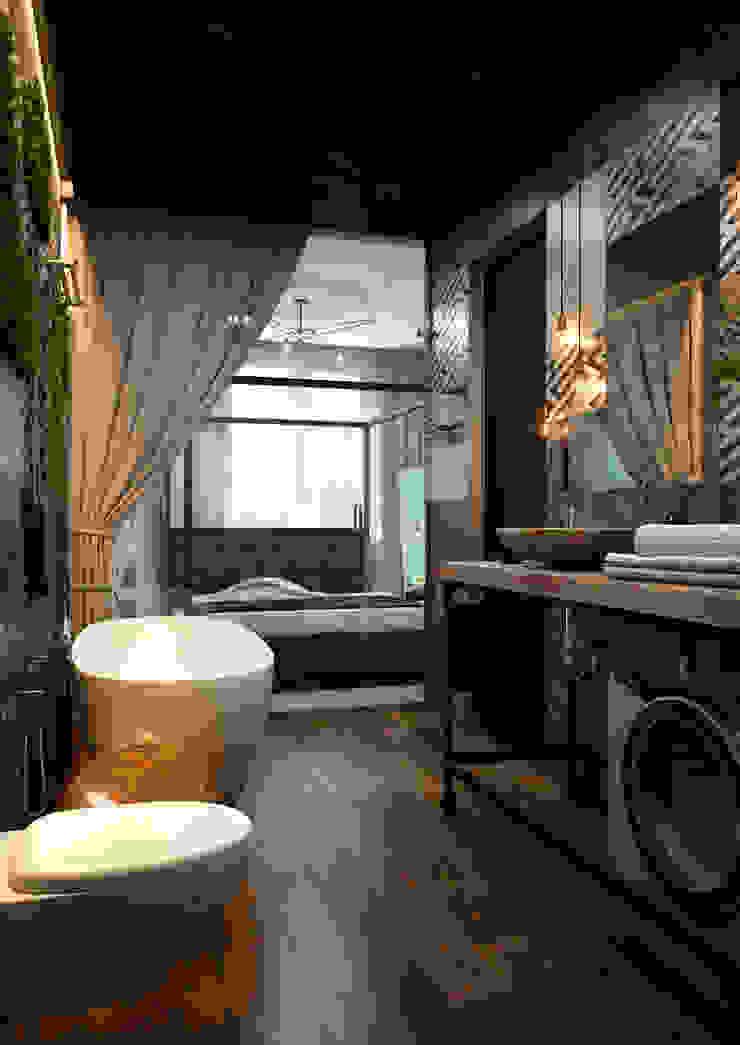 Verge of luxury Ванная комната в эклектичном стиле от VAE DESIGN GROUP™ Эклектичный