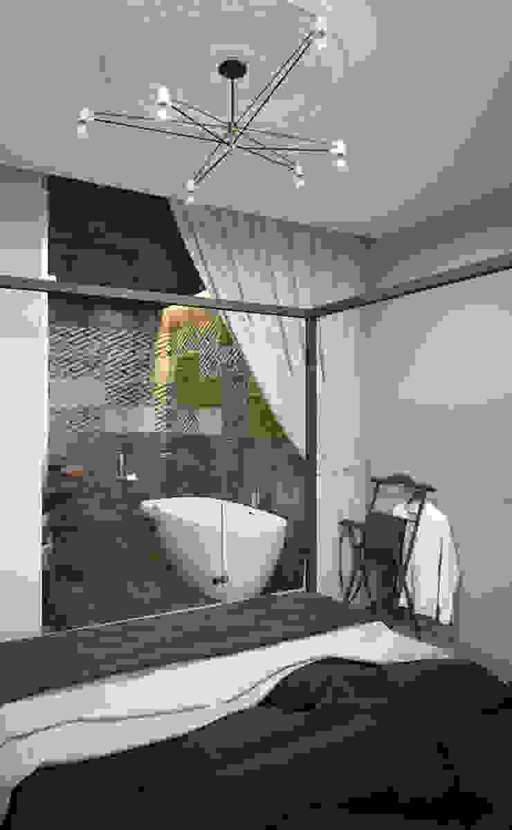 Verge of luxury Спальня в эклектичном стиле от VAE DESIGN GROUP™ Эклектичный