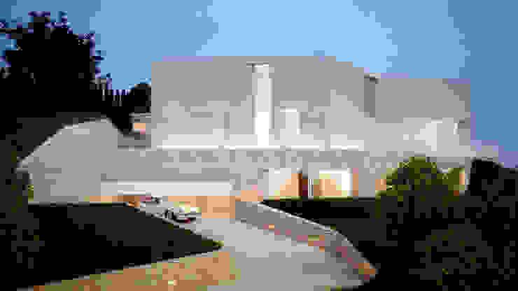 Lemons Bucket Mediterrane Häuser