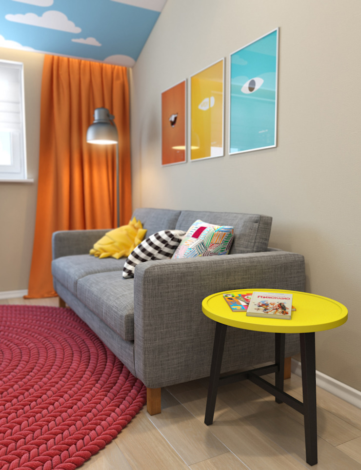 Paper Plane Детские комната в эклектичном стиле от VAE DESIGN GROUP™ Эклектичный