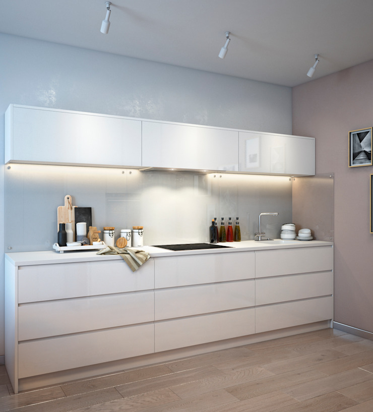 SVAI Studio Cocinas de estilo minimalista