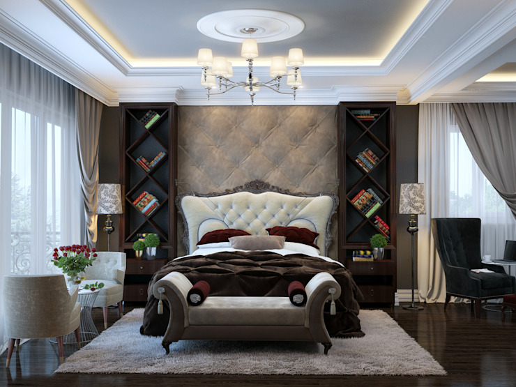 SVAI Studio Dormitorios de estilo clásico