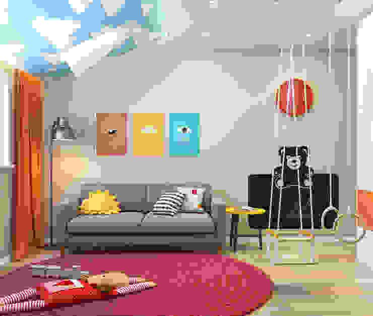 SVAI Studio Kamar Bayi/Anak Gaya Eklektik