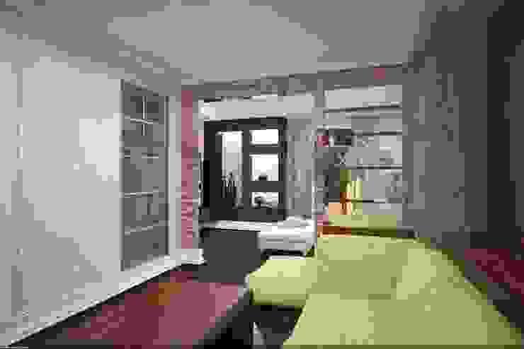 Дизайн интерьера п.FamilyClub Коридор, прихожая и лестница в стиле лофт от Veronika Brown Studio Лофт