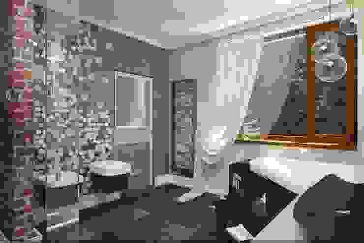 Дизайн интерьера п.FamilyClub Ванная комната в стиле кантри от Veronika Brown Studio Кантри