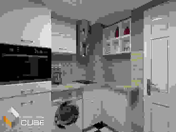 Дизайн малогабаритной квартиры: Кухни в . Автор – Лаборатория дизайна 'КУБ'