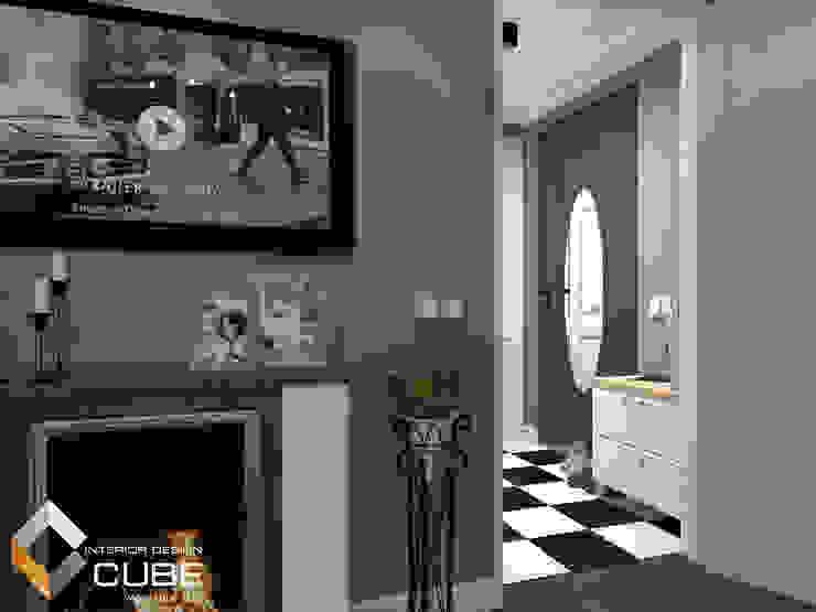 Дизайн малогабаритной квартиры Коридор, прихожая и лестница в колониальном стиле от Лаборатория дизайна 'КУБ' Колониальный