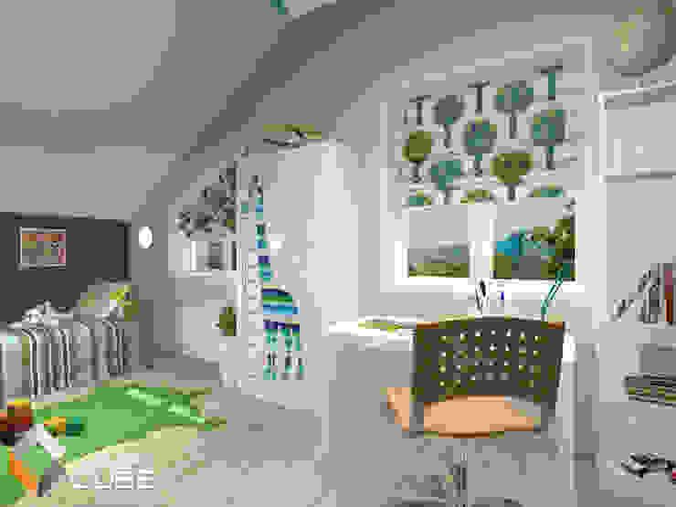 Recámaras infantiles tropicales de Лаборатория дизайна 'КУБ' Tropical