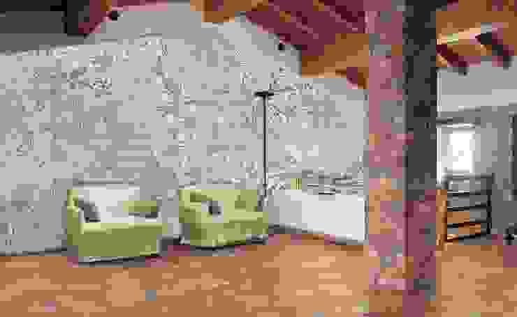 Fantasy - verde PIXIE progetti e prodotti Pareti & PavimentiRivestimenti pareti & Pavimenti