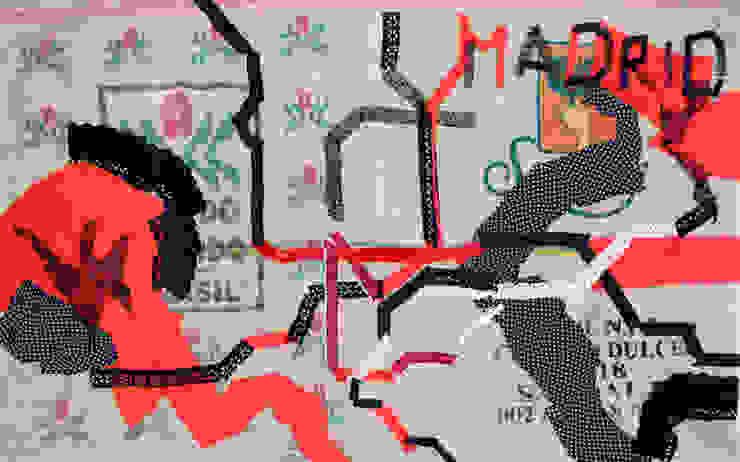 Metro - Polis Madrid di Svetlana Kuliskova Moderno
