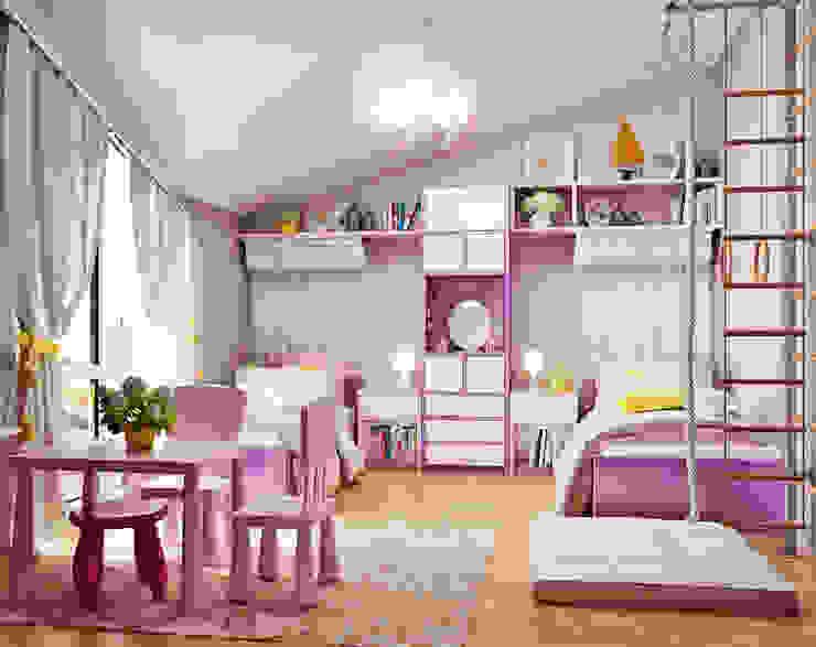 Chambre d'enfant moderne par Студия дизайна Interior Design IDEAS Moderne
