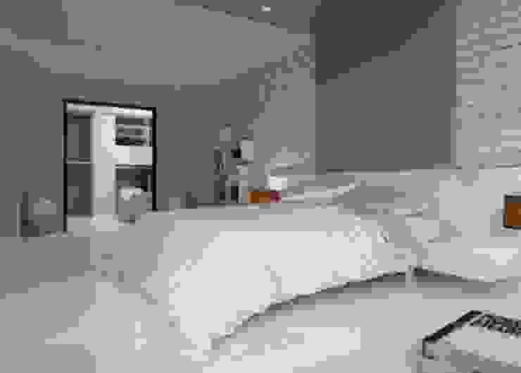 ROAS ARCHITECTURE 3D DESIGN AGENCY – Bedroom View:  tarz Yatak Odası