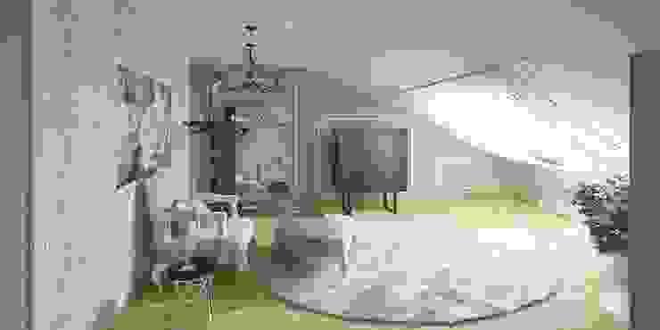 Дизайн-проект таунхауса 300 кв. м. Коридор, прихожая и лестница в классическом стиле от Мастерская архитектуры и дизайна FOX Классический