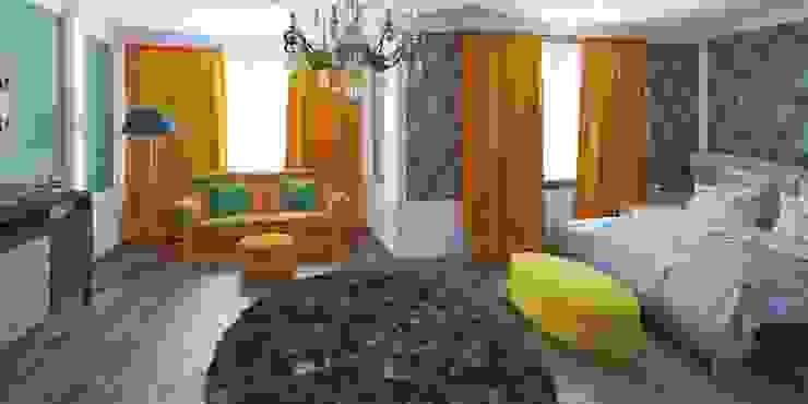 Дизайн-проект таунхауса 300 кв. м. Спальня в классическом стиле от Мастерская архитектуры и дизайна FOX Классический