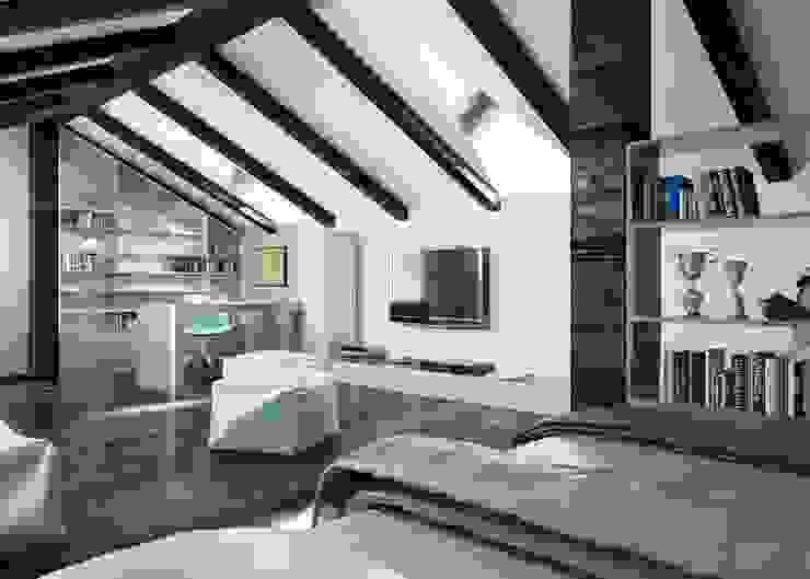 Детская комната в стиле модерн от ROAS ARCHITECTURE 3D DESIGN AGENCY Модерн