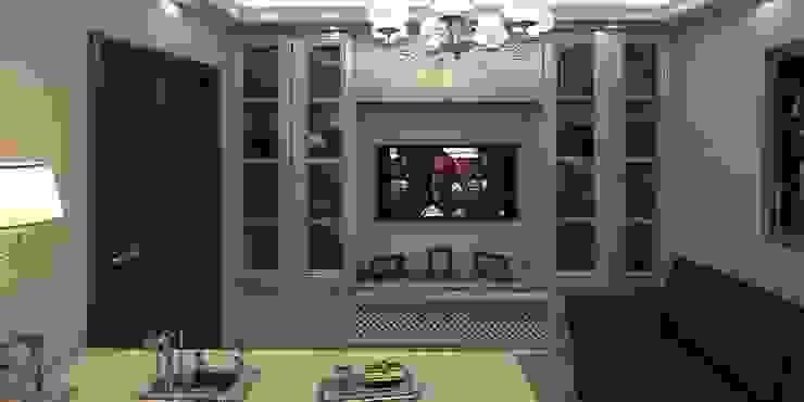 Дизайн-проект квартиры 100 кв. м. Окна и двери в классическом стиле от Мастерская архитектуры и дизайна FOX Классический