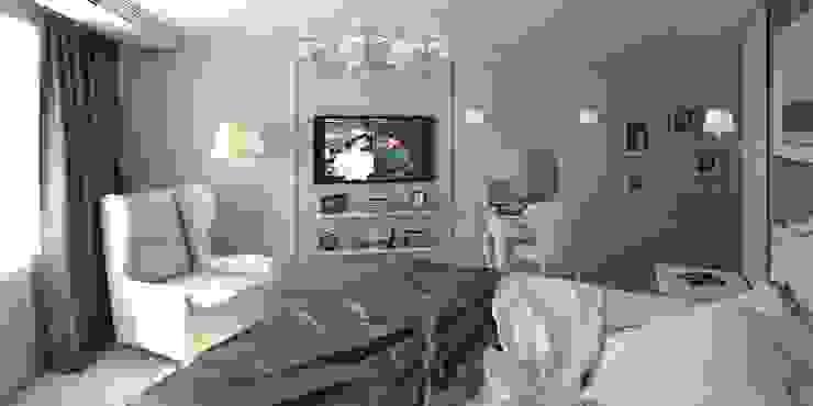 Дизайн-проект квартиры 100 кв. м. Спальня в классическом стиле от Мастерская архитектуры и дизайна FOX Классический