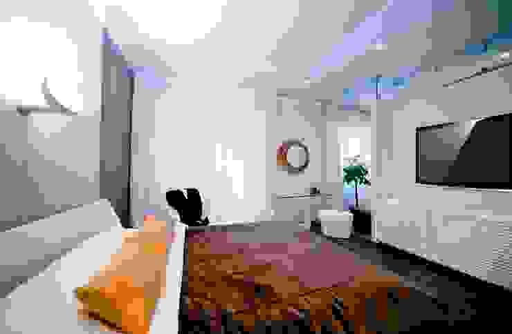 City Oasis – таунхаус в Куркино Nr.1 Спальня в эклектичном стиле от ODS Laboratory Architecture & Design Эклектичный