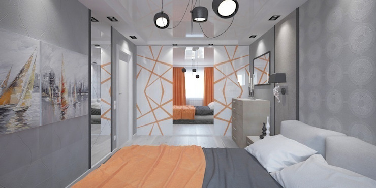 Phòng ngủ phong cách hiện đại bởi Мастерская архитектуры и дизайна FOX Hiện đại
