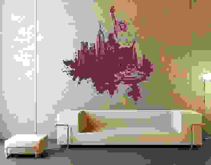 Murs de style  par Klebefieber.de - Apalis GmbH, Moderne