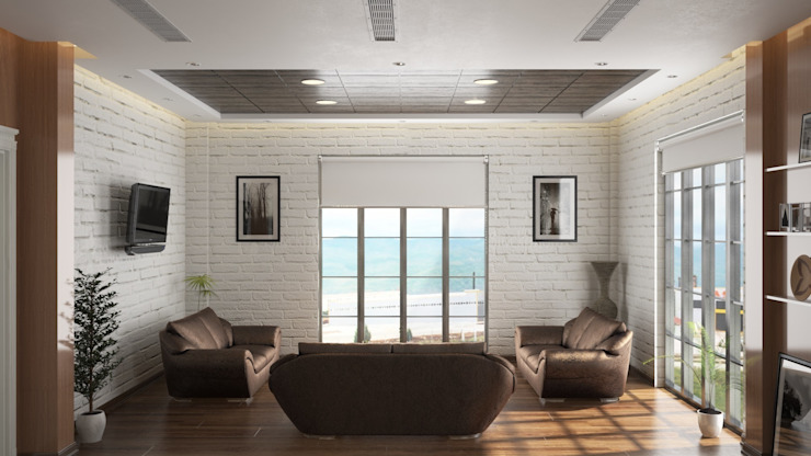 Chairman of the board room ROAS ARCHITECTURE 3D DESIGN AGENCY Modern