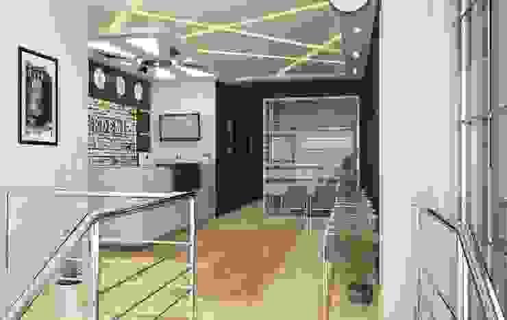 Entrance ROAS ARCHITECTURE 3D DESIGN AGENCY Modern