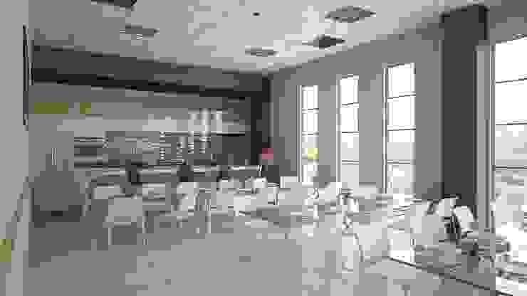 Kitchen ROAS ARCHITECTURE 3D DESIGN AGENCY Modern